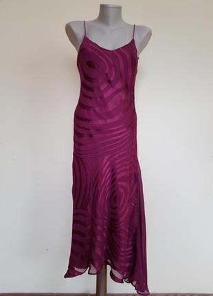 Красивое брендовое платье шелк вискоза monsoon