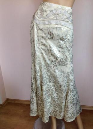 Длинная оригинальная елегантная юбка /44/brend awoss