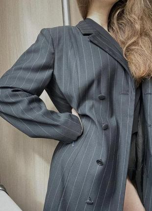 Пиджак женский длинный