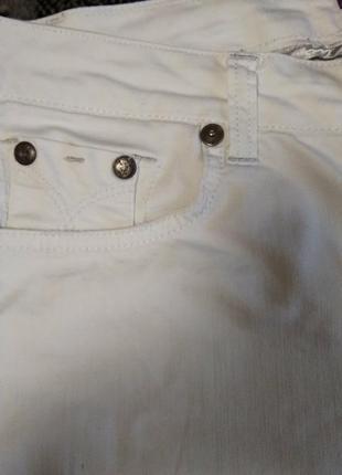 Білі штани б/у5 фото