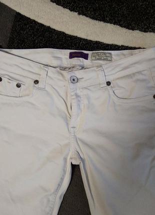 Білі штани б/у2 фото