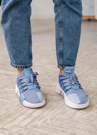 Женские кроссовки adidas equipment basketball blue / синие5 фото