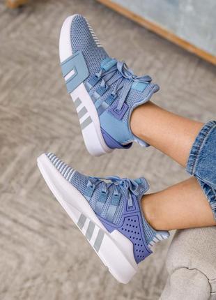 Женские кроссовки adidas equipment basketball blue / синие2 фото