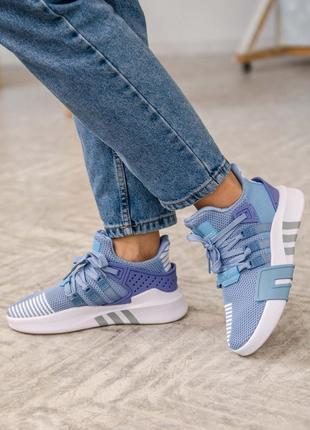 Женские кроссовки adidas equipment basketball blue / синие