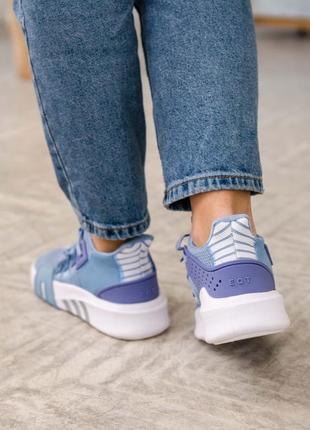 Женские кроссовки adidas equipment basketball blue / синие6 фото