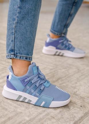 Женские кроссовки adidas equipment basketball blue / синие3 фото