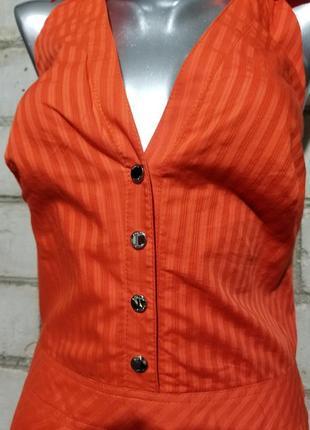 Брендовое платье-халтер  karen millen6 фото