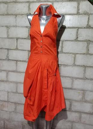 Брендовое платье-халтер  karen millen