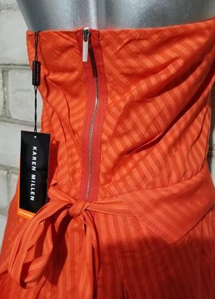 Брендовое платье-халтер  karen millen7 фото