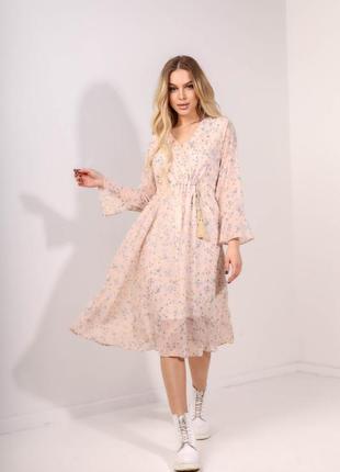 Красивое женское платье. расцветка в ассортименте.