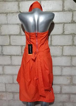 Брендовое платье-халтер  karen millen2 фото