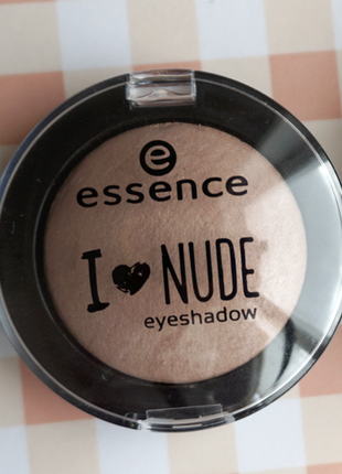 Тени для век essence i love nude eyeshadow оттенок my favorite tauping тауп