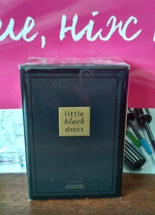 Парфюмерная вода женская little black dress avon маленькое черное платье эйвон 50 мл