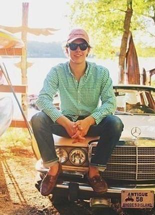 Мужская хлопковая рубашка от rover & lakes