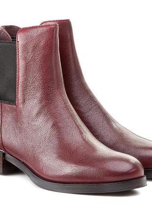 Отличны!clarks! кожаные ботинки размер 35. 5, 36, 38, 38. 5, 39