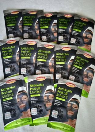 Schaebens пилинг маска с активированным углем 16 мл