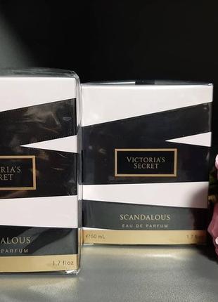 Туалетная вода scandalous victoria's secret