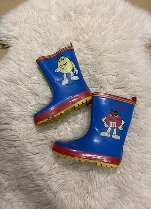 Резиновые сапоги для малыша 🦋💛гумові чобітки