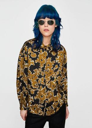 Zara рубашка s