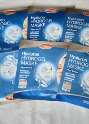 Schaebens  гидрогелевая маска для лица с гиалуроновой кислотой