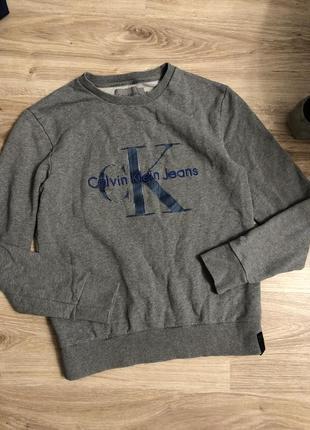Оригинальный свитшот calvin klein jeans келвин кляйн кофта толстовка