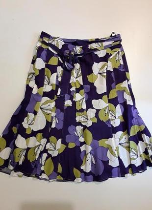 Фирменная льняная юбка