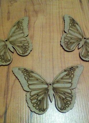 Заготовки деревянные бабочка/ метелик для декупажа