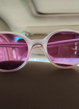 Розовые очки. круглые1 фото
