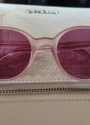 Розовые очки. круглые2 фото