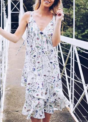 Цветочное платье,сарафан