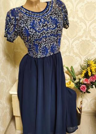 Шикарное невнроятно красивое платье,нарядное,вечернее asos