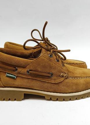 Топ-сайдери sebago замшеві туфлі оригінал