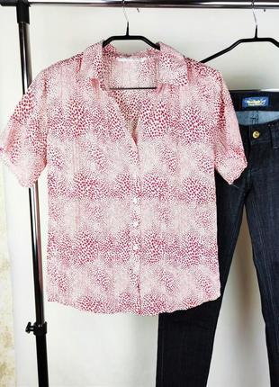 Красивая легкая брендовая блуза amaranto