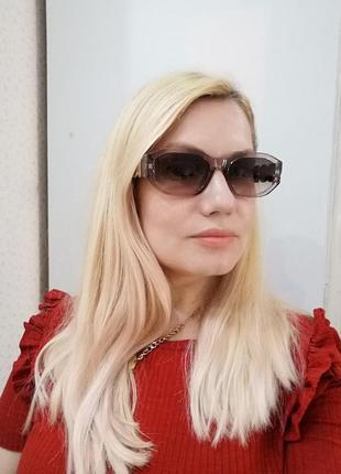 Эксклюзивные брендовые солнцезащитные женские очки3 фото