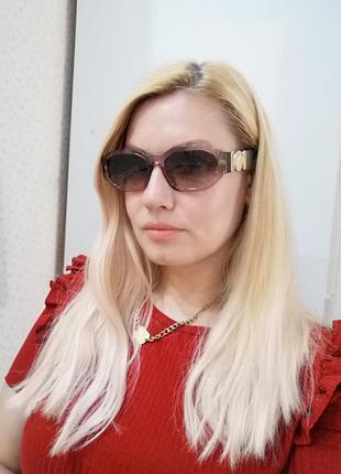 Эксклюзивные брендовые солнцезащитные женские очки2 фото