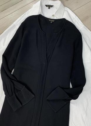 Чёрное платье massimo dutti оригинал2 фото