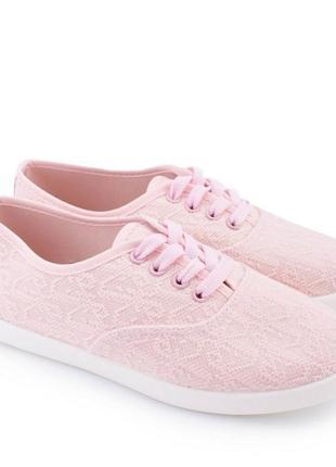 Кеды женские розовые2 фото
