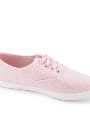 Кеды женские розовые3 фото