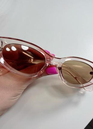 Красивые очки солнцезащитные1 фото
