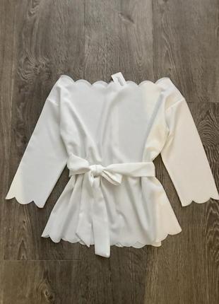Роскошная блуза на плечи gree nice италия 🇮🇹