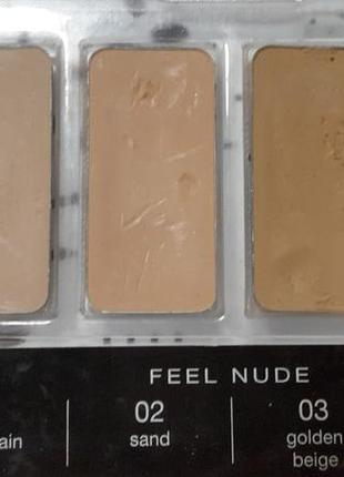 Тестер  пудры feel nude bellaoggi