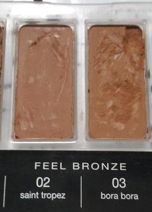 Тестер бронзеров feel bronze bellaoggi