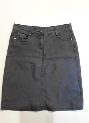 Фирменная джинсовая юбка