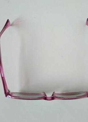 Очки офтальмологические окуляри для дали при близорукости -3 с затемнением4 фото