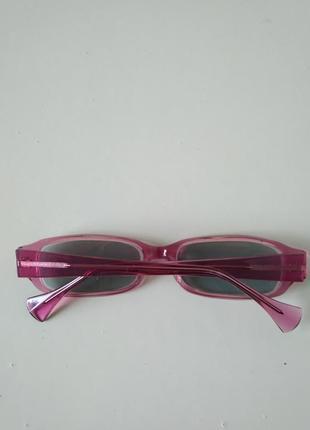 Очки офтальмологические окуляри для дали при близорукости -3 с затемнением3 фото
