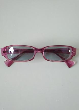 Очки офтальмологические окуляри для дали при близорукости -3 с затемнением2 фото