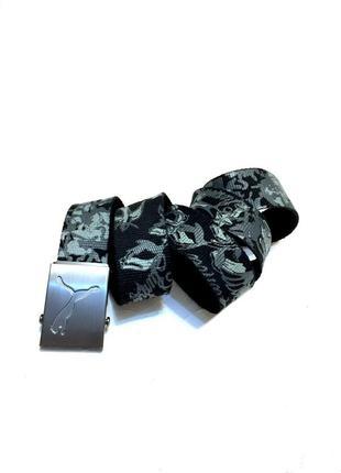 Ремень ремешок текстильный спортивный пояс puma оригинал