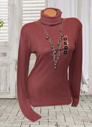 Женский свитер-водолазка в рубчик р.хs s takko fashion германия1 ... 6e394bf13ff86