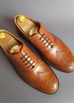 Туфли оксфорды броги j.briggs 42р.