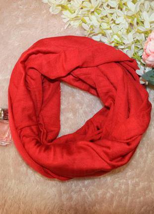 Теплый шарф-снуд палантин 120х160 takko fashion германия